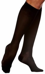 Sigvaris 840 Soft Opaque Knee High Stockings, Closed Toe (30-40mmHg)