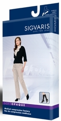 Sigvaris 840 Soft Opaque Knee High Stockings (Open Toe) (15-20mmHg)