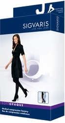 Sigvaris 840 Soft Opaque Pantyhose Stockings (Open Toe) (15-20mmHg)