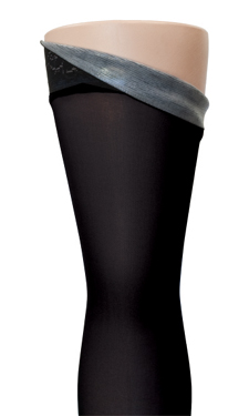 Sigvaris 840 Soft Opaque Thigh High with Grip-Top Stockings, Closed Toe (30-40mmHg)