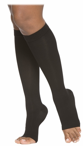 SIGVARIS 860 Select Comfort Knee High, Open Toe w/ Grip Top (20-30 mmHg)
