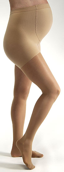 SIGVARIS 860 Select Comfort Maternity Pantyhose for Women, Closed Toe (30-40 mmHg)