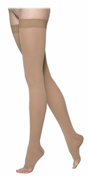 SIGVARIS 860 Select Comfort Thigh High, Open Toe w/ Grip Top (20-30 mmHg)