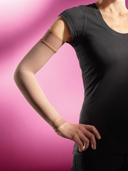 Sigvaris 910 Advance Armsleeve with Grip Top, Without Gauntlet, Plus Size (30-40mmHg)