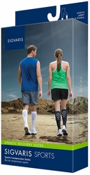 Sigvaris Athletic Recovery Socks for Men and Women 15-20 mmHg