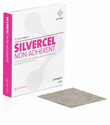 Silvercel Non-Adherent Antimicrobial Alginate Dressing with Easy Lift