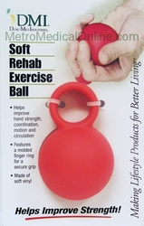 Soft Rehab Exercise Ball (Mabis DMI)