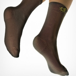 Solidea Micro Massage Active Unisex Speedy Mid-Calf Socks, Closed Toe (12/15 mmHg)