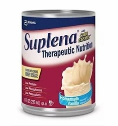 Suplena Nutrition for Reduced Kidney Function Home Page