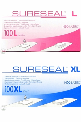 SureSeal Pressure Bandages (Size Large) (Box of 100)