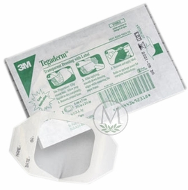 """Tegaderm Transparent Dressing with Label #1626W (4""""x4 3/4"""") (Box of 50)"""