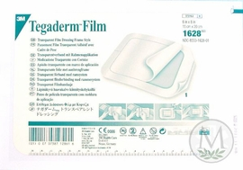 """Tegaderm Transparent Dressing with Label #1626W (4""""x4 3/4"""") (by the Each)"""