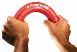 TheraBand FlexBar Exerciser, Red