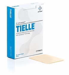 Tielle Family of Hydropolymer Dressing