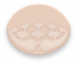 Trulife BodiCool Oval Breast Form 491