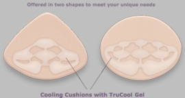 Trulife Bodicool Partial Triangle Breast Form 534