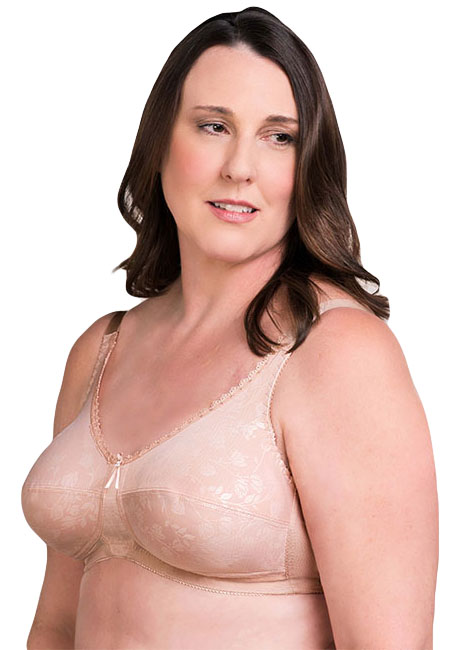 Trulife Gabriella Rose Embossed Soft Cup Pocketed Bra (Style 4015)