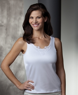 Trulife Jennifer Camisole with Drain Pouches, Style 603