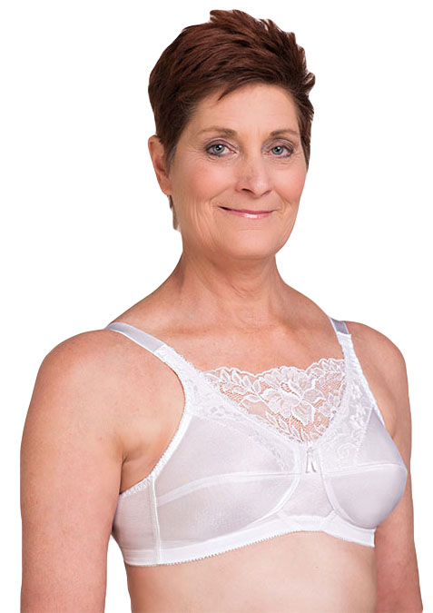 Trulife Jessica Lace Cami Microfiber Soft Cup Pocketed Bra (Style 4019)