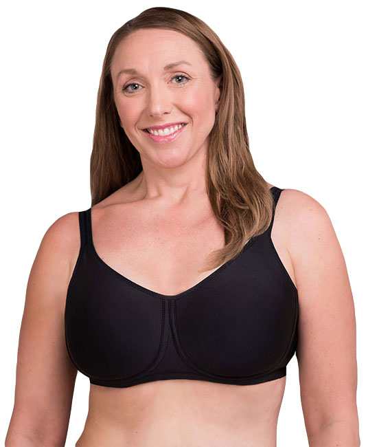 Trulife Lily Seamless Microfiber Underwire Pocketed Bra, Style 4002