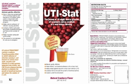 UTI-Stat Urinary Health Liquid Supplement Home Page