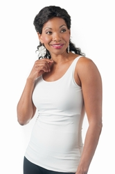 Wear Ease Slimmer Compression Pocketed Camisole (Style 910)