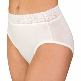 Wearever Lace Waist Unique-Dri Panty