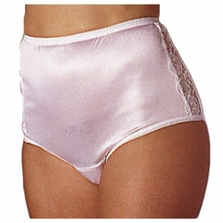 Wearever Womens Nylon and Lace Incontinence Panties
