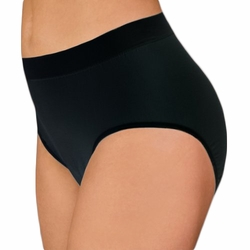 Wearever Womens Smooth & Silky Seamless Full-Cut Incontinence Panties