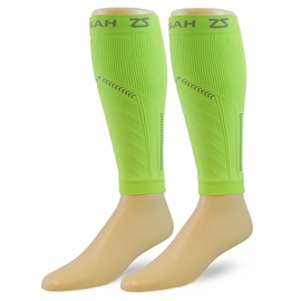 Zensah Reflect Compression Running Leg Sleeves (By the Pair)