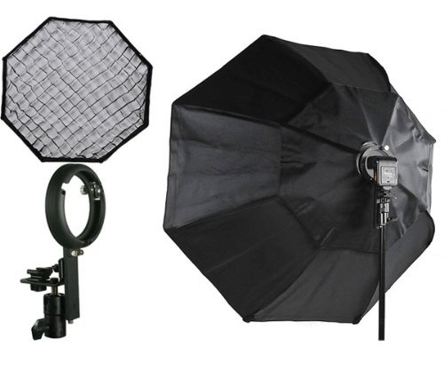"""16 Rod Octagon Grid: 37"""" Octagon Honeycomb Grid Softbox With Flash Mounting For"""