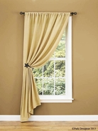 "Burlap Single 84"" Panel <br>Measures 56""W x 84""L (sold as an individual)"