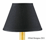 "Casual Classics Lamp Shade 12"" Chocolate"