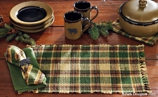 "Scotch Pine Chindi Place mat 13""x19"" (thick)"