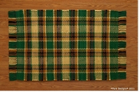"Scotch Pine Rag Rug 36""x60"""