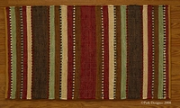 "Timber Ridge Rag Rug Runner 24""x72"""