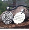 Acorn ~ Celtic Strength Pewter Necklace