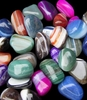 Banded Agate ~ Tumbled Gemstone