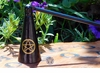 Black + Gold Pentacle Candle Snuffer