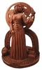 Brigit Statue & Tealight Candle Holder