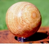 Brown Aragonite Sphere