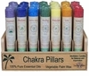 Candle Magick ~ Palm Wax Chakra Pillars