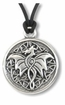 Celtic Dragon ~ Spirit Wisdom Pewter Necklace
