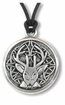 Celtic Stag ~ Spirit Wisdom Pewter Necklace