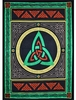 Celtic Triquetra Tapestry Cotton Throw