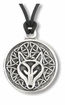 Celtic Wolf ~ Spirit Wisdom Pewter Necklace