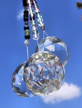 Crystal Ball + Gemstone Light Catcher