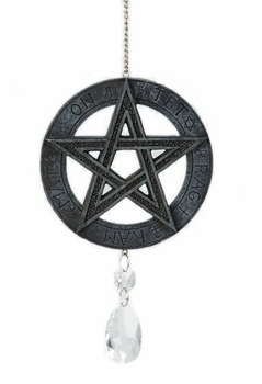 Crystal Pentacle Ornament