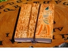 Egyptian Blessings ~ Eco-Friendly + Fair Trade Leather Journal - ONLY 1