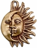Entwined Sun & Moon Wall Plaque